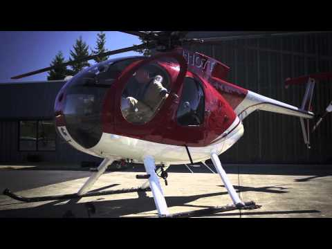 Helicopter - MD500 Helicopter goes head to head with a Challenger SRT8 392. These boys are putting up big money to see which machine can outpace the other in a down & bac...