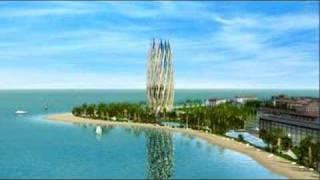 پروژه گًل شرق در جزیره کیش