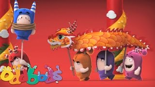 Oddbods | Chinese New Year Dragon Dance
