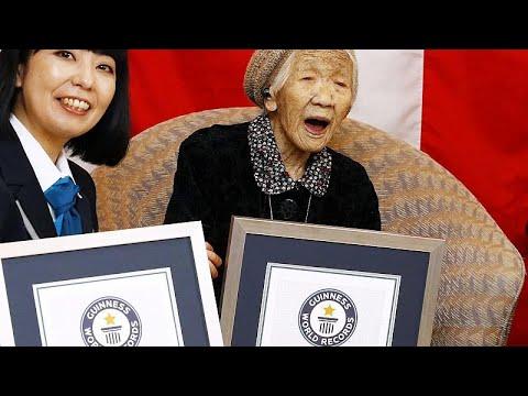 Γυναίκα από την Ιαπωνία ο γηραιότερος άνθρωπος του κόσμου…