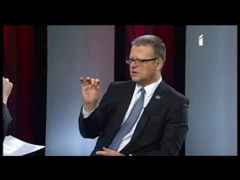 """Veselības ministra Dr. Gunta Belēviča intervija LTV1 raidījumā """"1:1"""" (2.daļa)"""