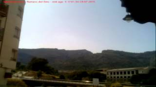 Timelapse 05-08-2015 Alcoi - Barranc del Sinc