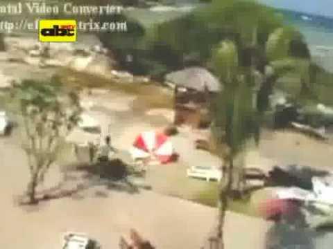 Divulgan nuevas imágenes de Tsunami que ocurrió en el 2004