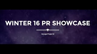 Georgia PR Combo Video – Winter 2016 – [08:30]