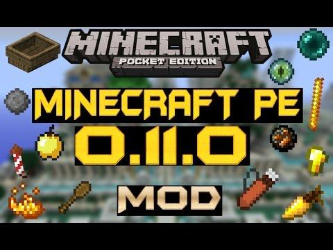Minecraft pe 0.11.0 mod | cosas del mcpe 0.11.0 y del minecraft pc