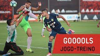 Os gols da vitória do Mais Querido sobre o Barra da Tijuca em jogo-treino realizado no CT George Helal --------------- Seja...