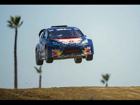 Drifting Through Los Angeles - Red Bull Global Rallycross 2014