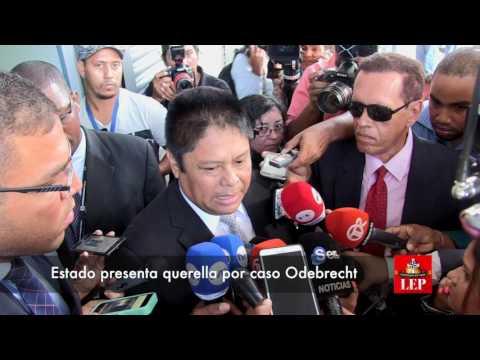 Estado presenta querella por caso Odebrecht