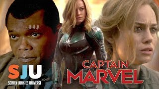 Let's Talk About That New Captain Marvel Trailer - SJU by Clevver Movies