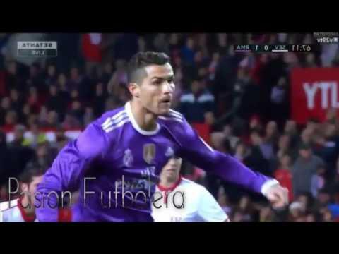 Real Madrid vs Sevilla vs 1-2 Highlights   All Goals   HD