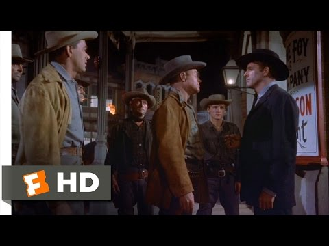 Gunfight At The O.K. Corral (6/9) Movie CLIP - Check In Your Sidearms (1957) HD