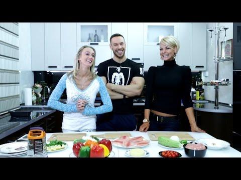 Оксана Яшанькина - Что едят чемпионы? Антон Антипов и Анна Стародубцева (видео)