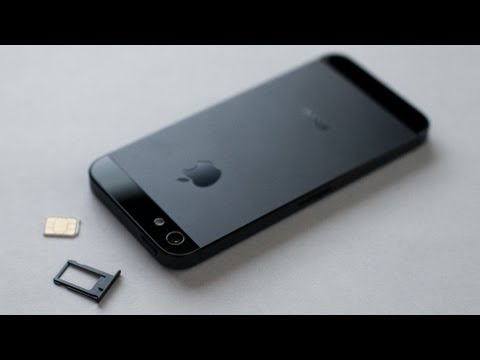 iPhone 5 / 5S HOW TO: Insert / Remove a SIM Card