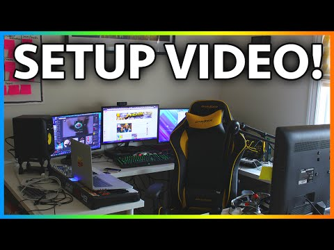 setup - MrJamesGeary Setup Video 2014 - Gaming Setup Tour Video + Custom PC Ideas ▻ More GTA 5 + GTA 5 Online HERE: http://bit.ly/GTA5James ▻ Subscribe For More http://bit.ly/Sub2James ▻ Follow...
