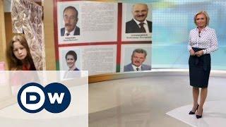 Выборы в Беларуси: Лукашенко навсегда?- DW Новости (09.10.2015)