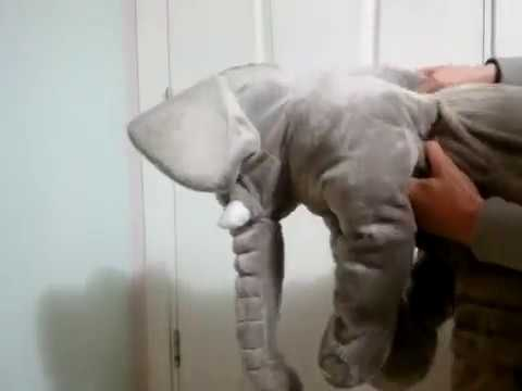 Plush Toys Elephant Pillow