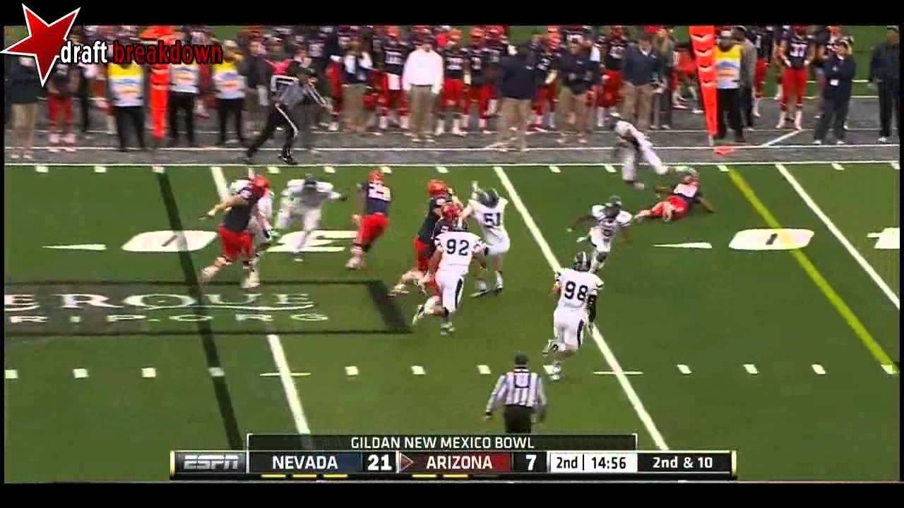 Austin Hill vs USC & Nevada (2012)