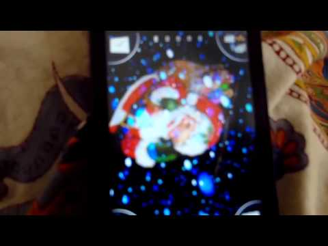 Video of 3D Santa Snow Live Wallpaper