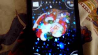 3D Santa Snow Live Wallpaper YouTube video