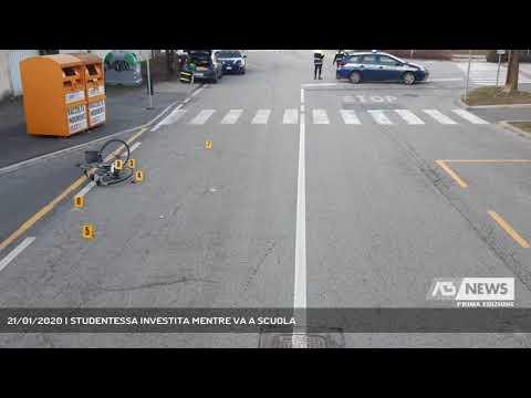 21/01/2020 | STUDENTESSA INVESTITA MENTRE VA A SCUOLA