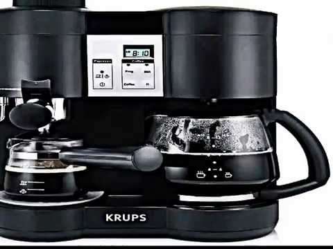the krups xp160050 steam espresso and coffee machine review automatic coffee makerautomatic. Black Bedroom Furniture Sets. Home Design Ideas