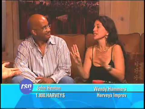 John Henton & Wendy Hammers on Howie's Late Night Rush