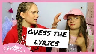 Video GUESS THE LYRICS w/ SKYE download in MP3, 3GP, MP4, WEBM, AVI, FLV January 2017