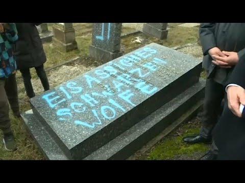 Γαλλία: Βεβηλώθηκαν με σβάστικες 80 τάφοι σε εβραϊκό νεκροταφείο…