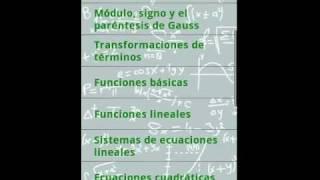 Fórmulas Matemáticas YouTube video