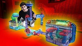 BUILDING MY HAMSTER HIS DREAM CAGE!! (INSANE) | FaZe Rug