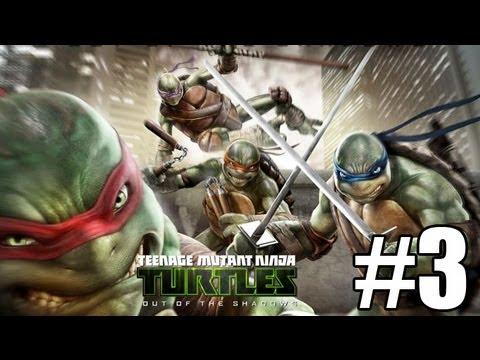 Прохождение Teenage Mutant Ninja Turtles Out of the Shadows Часть 3