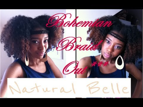 Hairstyle Tutorial: Easy Bohemian Braid Out