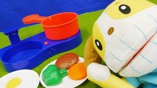 しまじろう おとでなりきりキッチンセット はみがきもきちんとね! ❤アンパンマン おもちゃアニメ Toy Kids トイキッズ animation anpanman★サンサンキッズTV★