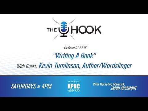 The Hook:  1.23.16 - Writing A Book for Marketing