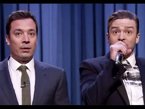 Jimmy Fallon, Justin Timberlake Perform
