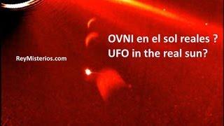 Increíble la imagen descubierta por Ufologos imagen tomada con el telescopio COR2 naves extraterrestres moviéndose uno detrás de otro . Ver la Noticia en la pagina web . http://www.reymisterios.com/videos/nasa/NASA-tres-enorme-ovni-en-el-sol-l1504.html