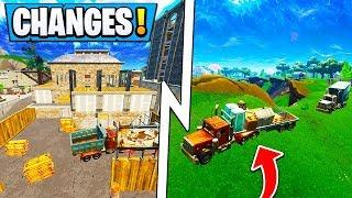 *BIG* Fortnite Update!   ALL Map Changes, Double Barrel Shotgun, Vending Machine!