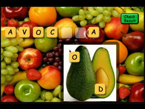 Video of Fruit Scrabble Free