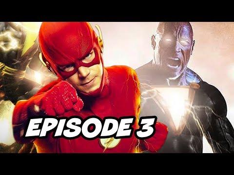 The Flash Season 6 Episode 3 Shazam Black Adam TOP 10 WTF and Easter Eggs