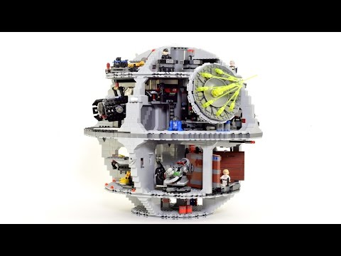 Man Builds 4 016Piece Death Star LEGO Set Makes Beautiful StopMotion Animation Of The