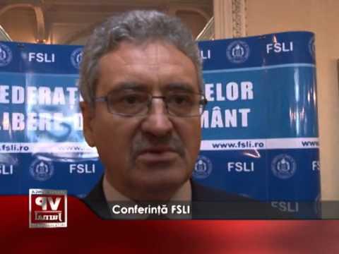 Conferință FSLI