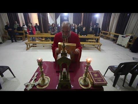 Τα Χριστούγεννα των λίγων Χριστιανών που απέμειναν στη Συρία…