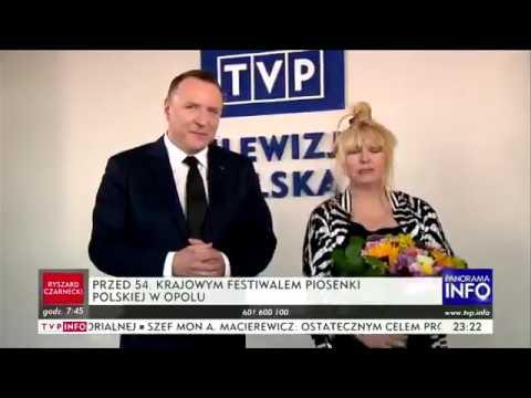 Ambasadorka Dobrej Zmiany Maryla Rodowicz i prezes Kurski w ekstazie