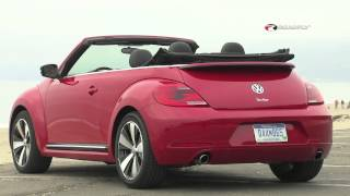 Volkswagen Beetle Convertible 2013 Review&Test Drive With Emme Hall By RoadflyTV