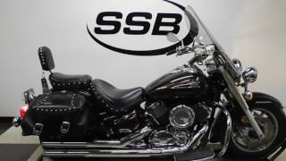9. 2004 Yamaha XVS11AT Vstar 1100 Silverado– used motorcycles  for sale– Eden Prairie, MN