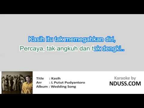 [Karaoke] Kasih - Putut Pudyantoro (No Vocal)