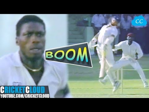 Curtly Ambrose almost got 10 Wickets | Watch Sir Viv Richards Mind Blowing Celebrations !!