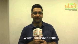 Karthik Priyadarshan at Kappal Movie Press Meet