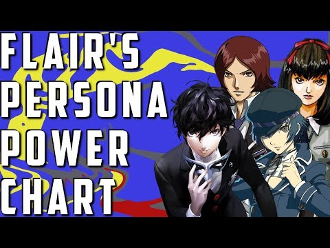 Flair's Persona Power Tiers Chart Explained