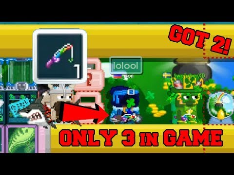 GrowTopia - NEW ROD!! NEW ITEMS!! + Giant Pot O' Gold! (St. Patrick's Day)